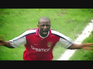 Vieira, woooooah - - OnThisDay in 1996, @OfficialVieira scored his first goal for us - - ️ Complete this sentence My favourite V
