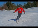 Improving your telemark turn on cross country skis