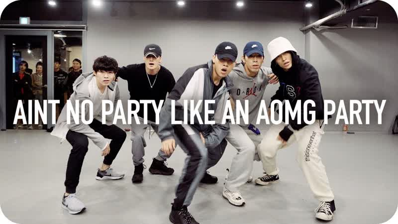 1Million dance studio Ain't No Party Like An AOMG Party Jay Park Ugly Duck Jinwoo Yoon Choreography