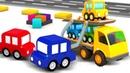 Про 4 машинки - Детские песенки - Мультики для малышей от года