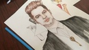 Brendon Urie drawing Panic! At The Disco - Say Amen (Saturday Night)