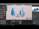 Hard surface modeling in blender 2 8 making a steam iron PART 2