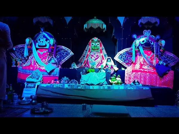 Шрипад БВ Шридхар Махарадж Мангала арати 16 02 2019 Бароут
