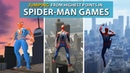 JUMPING From the Highest Points in Spider Man Games 2004 2018