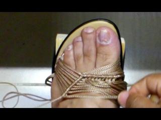 Luis Quintero #1 en sandalias Tejidas les tengo un modelo Mas