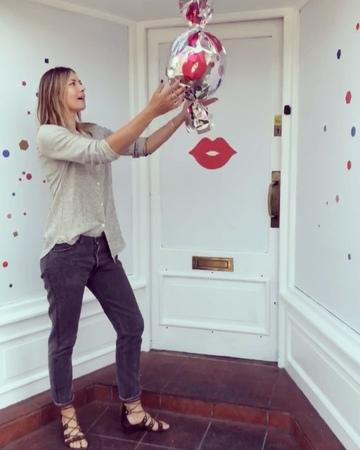 "Maria Sharapova on Instagram: ""Sugarpova PovaPopUp shop in Wimbledon village opens Wednesday. Spot our fun window hoarding tomorrow filled with tr..."