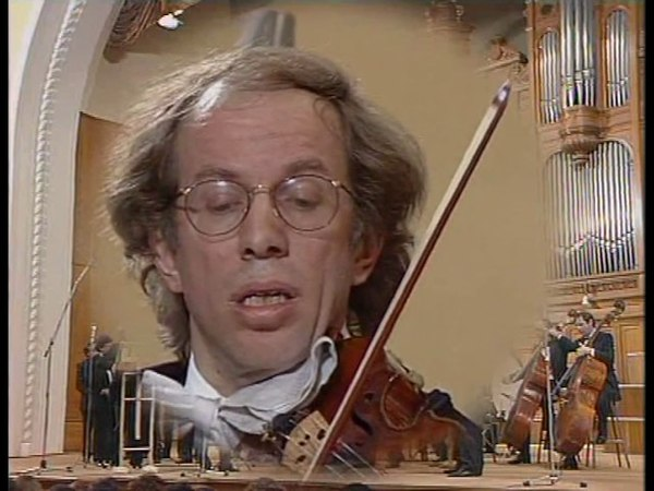 Gidon Kremer plays Part, Lourie, Mendelssohn, Rochberg - video 1990