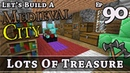 How To Build A Medieval City :: E90 :: Lots Of Treasure :: Minecraft :: Z One N Only