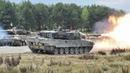 Strong Europe Tank Challenge - T-64BM Bulat, AMX-56 Leclerc, Leopard 2, M1 Abrams Tanks in Action