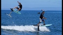 N8V HAWAII FOIL SURFING WITH FOOT STRAPS