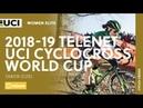 2018-2019 Telenet UCI Cyclocross World Cup - Tabor (CZE) / Women Elite
