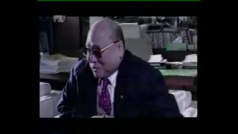 Интервью с М. Оямой. (ТК Россия начало 90-х)