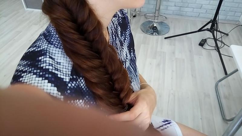 Курс Плетение кос на себе