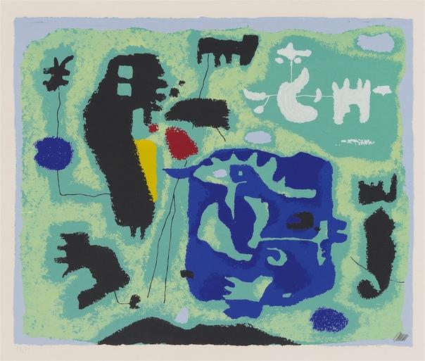 Вилли Баумайстер , Willi Baumeister (22 January 1889 – 1955)— немецкий художник-абстракционист и теоретик искусства. В 1919 году формирует свой, оригинальный художественный стиль, в котором