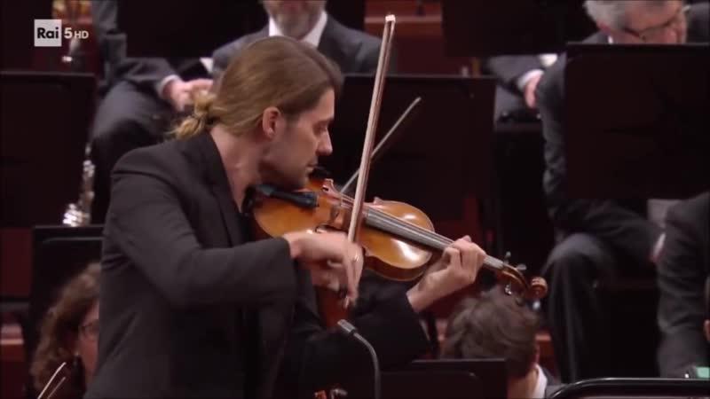 David Garrett - Orchestra Sinfonica Nazionale della Rai Turin 28.02.2017 - (Encore) Ryan McAdams conductor