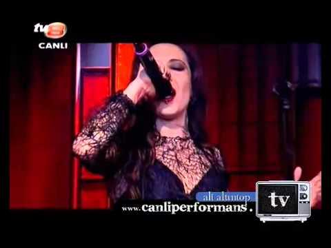 Kırmızı - Vazgeçmem Asla ( Senfonik Versiyon) Canlı, Medya Kralı TV8 06.04.2012