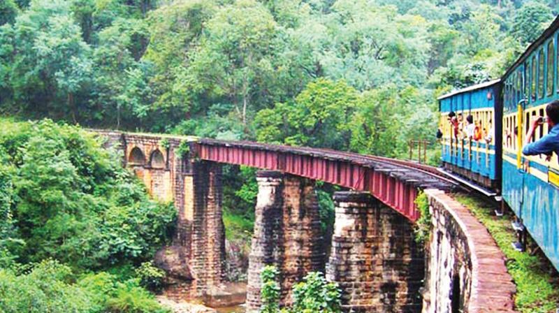 ансамбля фото горных железных дорог в индии александра