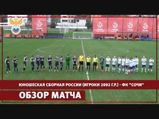 Юношеская сборная России (игроки 2002 г.р.) - ФК