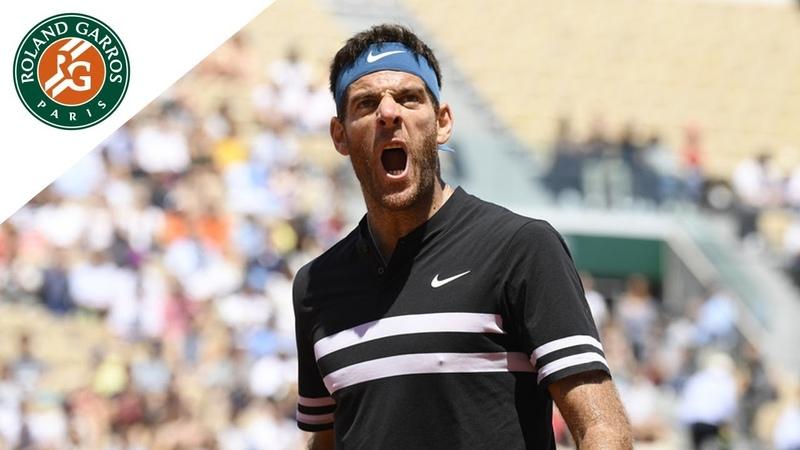 Juan Martin Del Potro vs Marin Cilic - Quarter-Final Highlights I Roland-Garros 2018