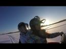 Мороз и солнце покатушки на снегоходе в Карелии моидрузяки