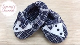 DIY - Sewing Gentle Shoes For Baby Boys Tutorial H