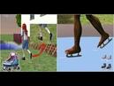 |Mod | Boxing | КОНЬКИ- РОЛИ |The Sims 2|