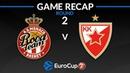 Highlights AS Monaco Crvena Zvezda mts Belgrade
