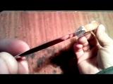 Нож из коньков без прибамбасов и понтов