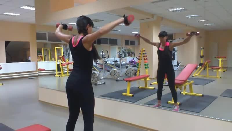 Качаем дельты Тренировка плечевого пояса
