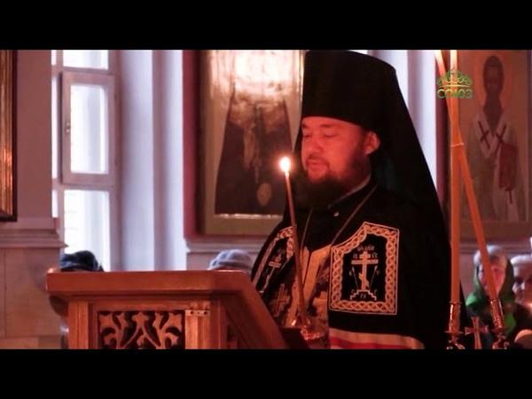 Епископ Мелекесский и Чердаклинский Диодор совершил великое повечерие с чтением покаянного канона