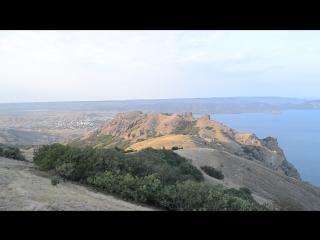 Панорамный вид с Карадага