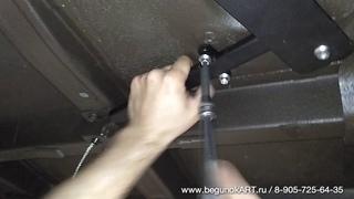 Установка защиты запасного колеса Kia Sorento PRIME UM