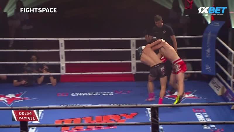 MuayThai Moscow 2: Дадаев Абдул — Сабиров Жасурбек | Тайский бокс