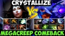 Crystallize Mirana vs 9 Slotted Anti-Mage - Megacreep Comeback