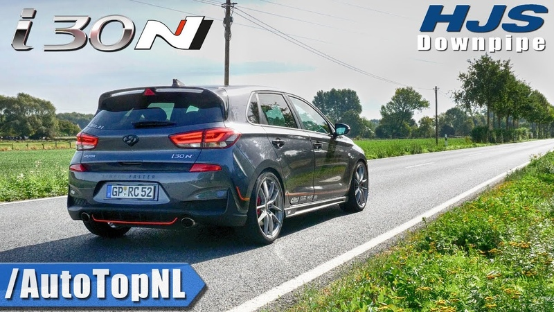 HYUNDAI i30 N HJS Downpipe   ONBOARD by AutoTopNL