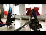 Алена Рябова с номером на воздушных полотнах «Цыганочка» #GraFit