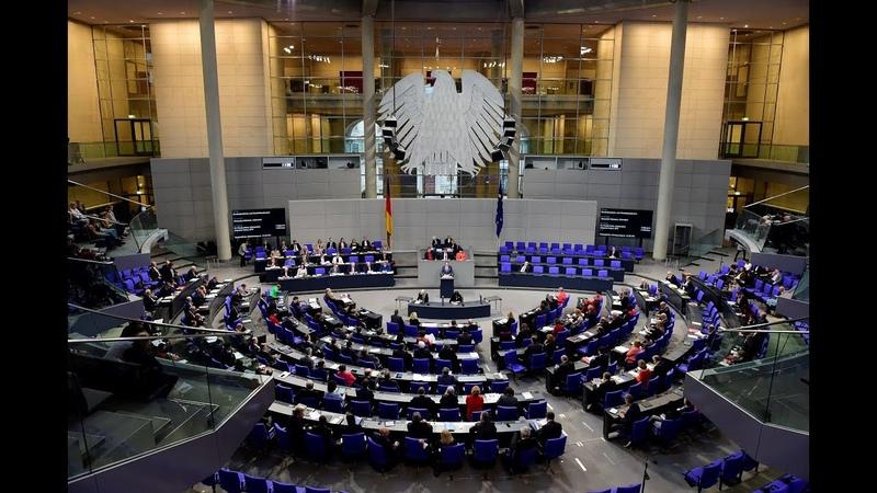 LIVE 80 Sitzung des Deutschen Bundestages Organspende Asylpolitik Kohleausstieg Bundeswehr
