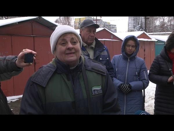 Мешканці вулиці Робочої вийшли на мітинг з 31 грудня їхні будинки - без опалення