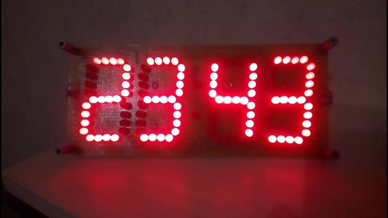 Режим работы будильника на собранных часах 176я серия микросхем