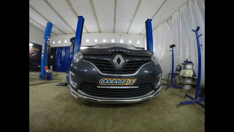 Молдинг из нержавейки на Renault Kaptur 2 0 4wd