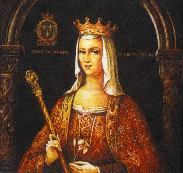 Княжна Анна Ярославна - королева Франции