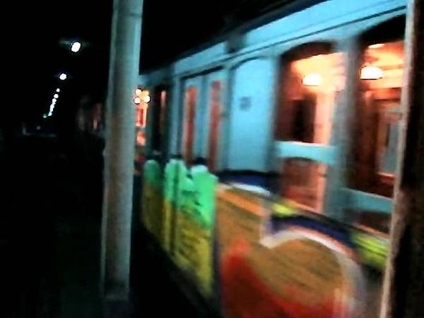 Viaje subte línea A desde Plaza de Mayo hasta Carabobo (со звуком)