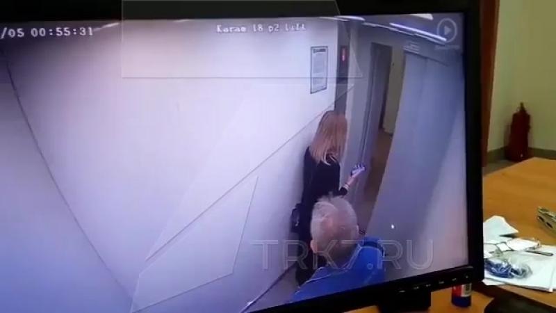 Драка в одном из лифтах города Красноярска