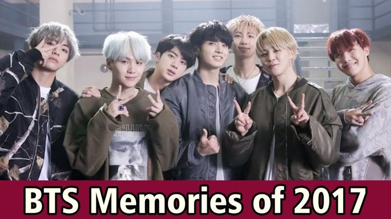 BTS Will Release Their Legend Journey Through BTS Memories of 2017