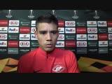 Лоренсо Мельгарехо: «Мы старались ради вас»