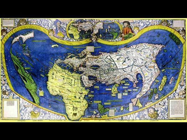 Картографы - Карта Вальдзеемюллера 1507-го гогда