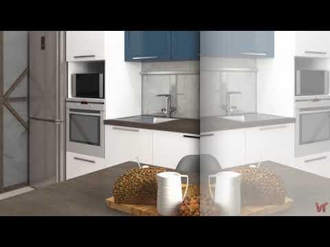 Дизайн апартаментов для холостяка, площадью 42 кв м «Бюргер хауз»
