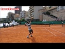 Roger Federer Practice Match - Monte Carlo - Court Level View ❤️️TENNIS