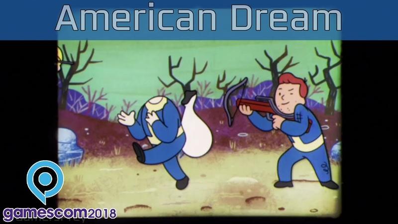 Fallout 76 Gamescom 2018 A New American Dream Trailer HD 1080P