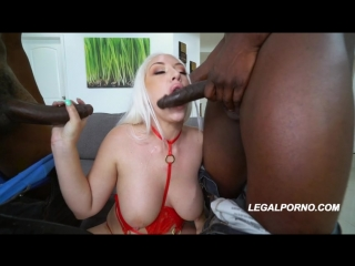Bigg Titty Phat Booty Sunny Chase 1st DP AA026 [DP, Interracial, Lingerie, Stockings, Anal, Toys, Big tits]
